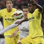 Con brillante actuación de Joel Campbell, el Villarreal saca un punto de oro ante el Real Madrid