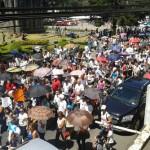 """Decenas de personas marcharon """"en defensa de la vida"""" la mañana de este sábado"""