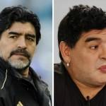 Labios carnosos de Maradona causan revuelo