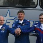 Una nave Soyuz despegó desde Baikonur rumbo a la EEI con tres cosmonautas