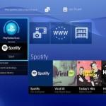 Spotify llega a consolas de Sony PS3 y PS4