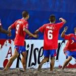 Costa Rica sumó su tercer triunfo en el Premundial de Fútbol Playa