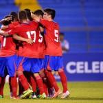 Selección Sub 17 golea a Haití en un juego enredado y de poco fútbol