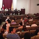 PAC no alcanzó quórum para realizar Asamblea, entre molestia de asistentes