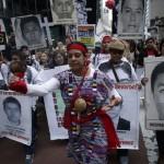 Familiares de 43 estudiantes mexicanos piden en Nueva York una solución al caso