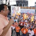 Grupo armado encañona a candidato a gobernador en estado mexicano de Guerrero