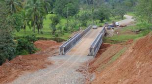Caso por polémica construcción de la 'trocha fronteriza' transita por un túnel que no termina