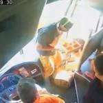 OIJ pide pistas para dar con asaltantes de bus grabados en video