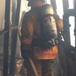 Fuego consume dos viviendas en Colonia 15 de Setiembre; sólo se reportan daños materiales