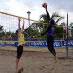 Karen Cope y Natalia Alfaro se proclamaron reinas del voleibol de playa