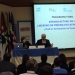 SIP le  toma la palabra al presidente Solís sobre ley de radio y TV, pero criticó la fallida propuesta que impulsaba