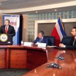 Autoridades aduaneras de Costa Rica y EEUUfirmaron un convenio de ayuda mutua