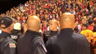 Policía detuvo a 13 revoltosos en Heredia, tras final de fútbol nacional