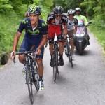 Andrey Amador no desfallece en su lucha por regresar al podio en el Giro de Italia