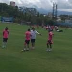 Selección Nacional arrancó trabajos para juegos amistosos