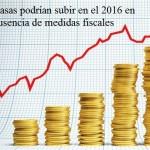 Economistas estiman que la ausencia de una reforma fiscal subiría las tasas de interés en el 2016
