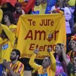 Reviva en fotos los mejores momentos de la final del fútbol nacional