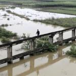 Al menos 35 muertos y 13 desaparecidos por inundaciones en el sur de China