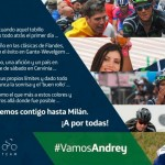"""Andrey Amador: """"El objetivo mañana es coronar en las primeras posiciones"""""""