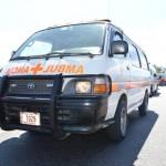 Se reporta una persona prensada tras sufrir un accidente en Atenas
