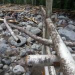Recope comenzó reparación de poliducto dañado por el temporal en Turrialba