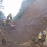 Deslizamientos y fuertes lluvias provocan cierre preventivo en ruta 32 y en una vía de Carrizal