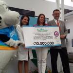 Gracias a carrera de atletismo, Hospital de Niños tendrá un equipo moderno para odontología