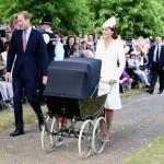 Duques de Cambridge bautizaron a la pequeña Carlota, la nueva princesa del pueblo