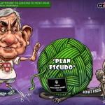 "crToons: Creación de empleo ""anticrisis"" en gobierno de Oscar Arias generó un déficit fiscal imparable"