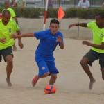 Selección de Fútbol Playa cayó derrotada en amistoso ante Brasil