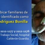 Hombre que permanece en el Calderón Guardia desde hace un mes, sería indigente en San José