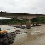 Paso por puente Chirripó en ruta limonense se reabriría este domingo
