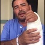 Hombre a quien le reimplantaron la mano asegura que su caso fue un milagro