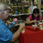 Amor y pasión: artesanos ticos destacan la calidad de sus productos