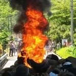 Detenidos en Paquera no podrán participar en manifestaciones públicas los próximos tres meses