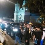 Vecinos de Aserrí se concentran frente a la Municipalidad, alegan problemas de agua
