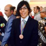 Costarricense gana medalla de bronce en Olimpiada Mundial de Química