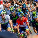 Amador es el escudero de Valverde y Quintana en la Vuelta