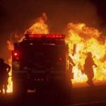 Más de 13.000 personas evacuadas por los incendios en California