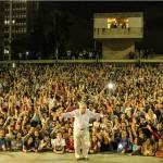 """En Brasil, Mujica se convierte en """"una estrella de rock"""""""