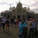 Aumenta flujo de romeros hacia la Basílica de Los Ángeles