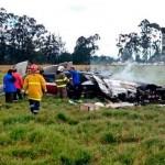 Accidente de avioneta deja dos muertos en Colombia