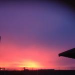 """La foto del día """"arcoíris nocturno"""""""