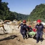 Lluvias amenazan búsqueda de víctimas en Guatemala