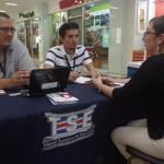 TSE mantiene quioscos informativos en centros comerciales